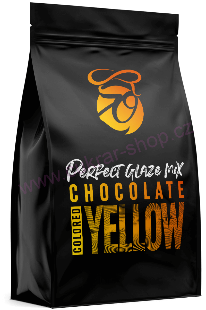 Perfect Glaze Chocolate mix YELLOW 300g