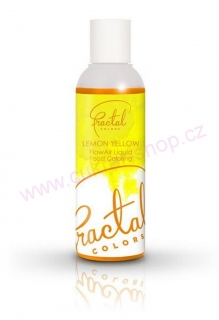 Airbrush barva Fractal Lemon Yellow 100 ml