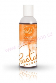 Airbrush barva Fractal Orange 100 ml