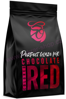 Perfect Glaze Chocolate mix RED 300g