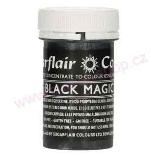 Gelové SF saténové 25g BLACK MAGIC