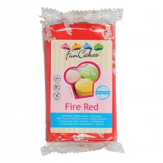 FunCakes Fire Red 250g