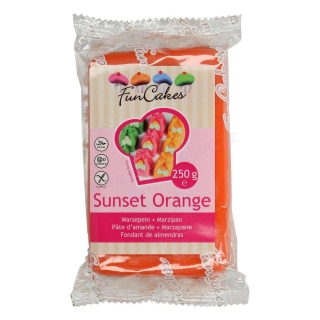 FunCakes marcipán Sunset Orange 250g